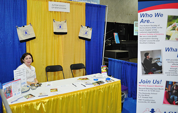 Autism Society of Ketuckiana Booth